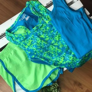 Neon & Turquoise Athletic Bundle